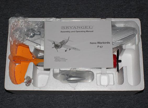 СКРЕСТ / СТОМАТОЛОГИЯ Mini P-47 550mm (ARF)