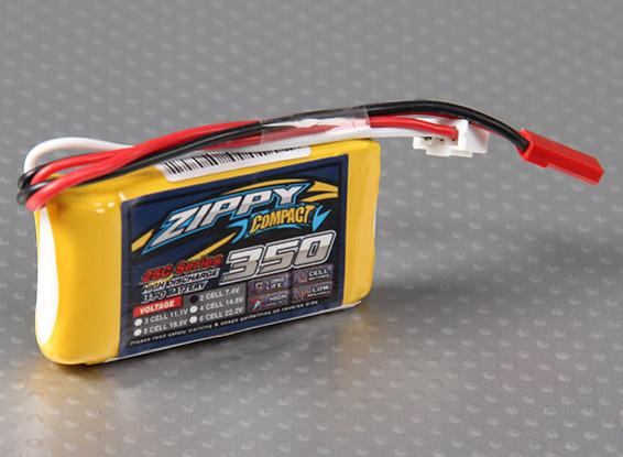 ZIPPY Компактный 350mAh 2S 25C Lipo обновления