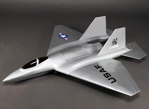 Огонь Phoenix 90мм Стекловолокно EDF Jet 1100mm (ARF)