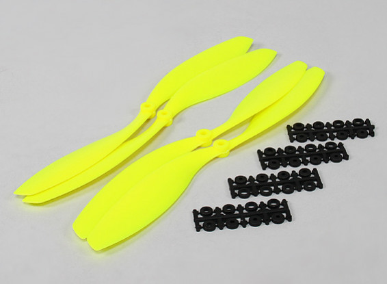 12x4.5 SF Реквизит 2рс Стандартное вращение / 2 шт RH Вращение (Flouro желтый)
