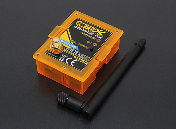 OrangeRx Open LRS 433MHz TX модуль 100mW (JR / Turnigy совместимый)