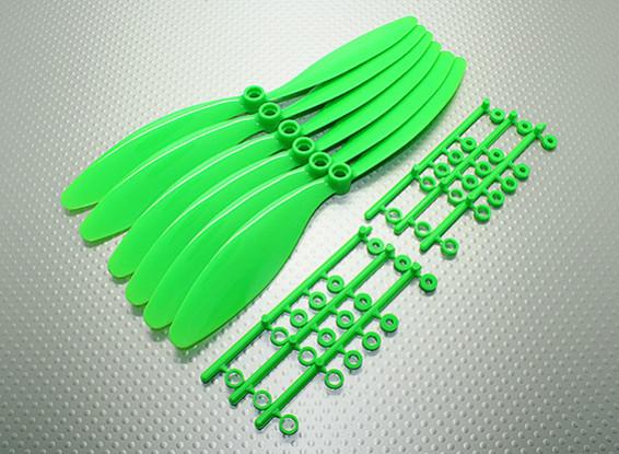 GWS EP Счетчик Вращающийся гребной винт (RH-8060 203x152mm) зеленый (6 шт / комплект)
