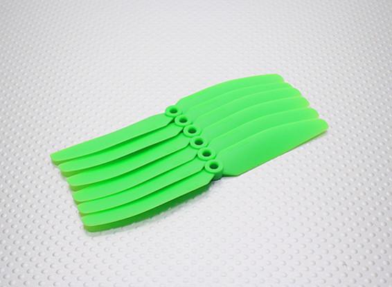 GWS EP Пропеллер (DD-5030 127x76mm) зеленый (6 шт / комплект)