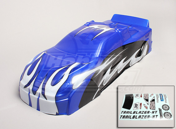 Замена кузова Shell - Turnigy Trailblazer XT 1/5
