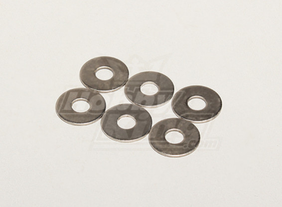 Плоская шайба 19x1x6mm (6 шт / мешок) - Turnigy Titan 1/5