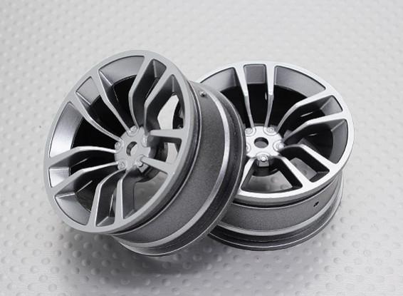 Масштаб 1:10 Touring High Quality / Дрейф Колеса RC автомобилей 12mm Hex (2pc) CR-DBSS