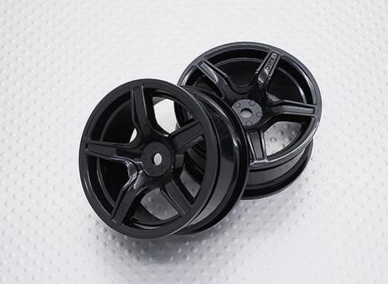 Масштаб 1:10 Touring High Quality / Дрейф Колеса RC автомобилей 12mm Hex (2pc) CR-C63NB