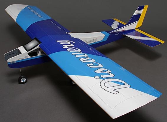 Discovery (синий) Бало Привет-Wing тренер Glow / EP 1620mm (ARF)