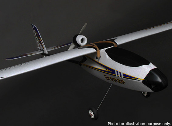 HobbyKing® ™ Breeze планер ж / Факультативный закрылками EPO 1400мм ж / Motor (АРФ)