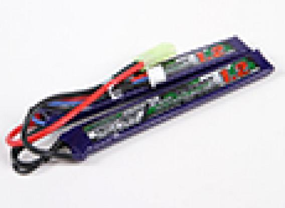 Turnigy нано-технологий 1200mAh 2S 25-50C Липо AIRSOFT пакет