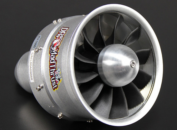 Доктор Mad Thrust 90мм 12 Лезвие сплава EDF 1000kv - 4200W (10S)