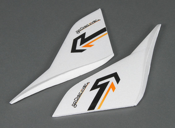 HobbyKing Go Discover FPV 1600мм - замена крыла Вертикальный