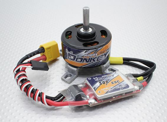 HobbyKing Осел ST3511-810kv Brushless Power System Combo