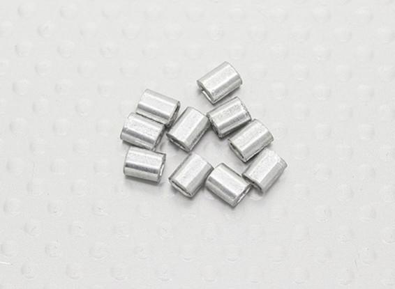 Обжима трубы для стальной проволоки - 10pc