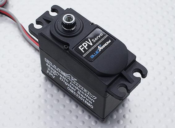 DMS33016MG 330 градусов путешествий FPV серво 9.50kg / 0.07s / 60г