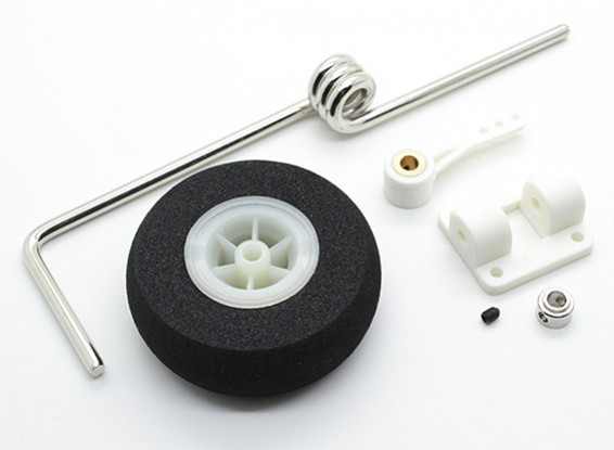 Перепрыгиваемый Рулевое управление Нос Сборка колеса для 46 ~ 60 класса моделей