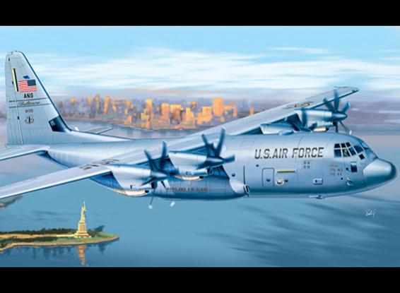 Italeri 1/72 шкала C-130J Hercules Plastic Model Kit