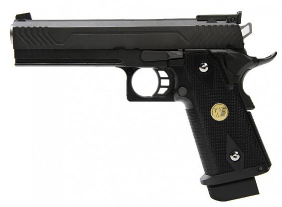Мы Привет-CAPA 5.1 GBB пистолет (M1, черный)