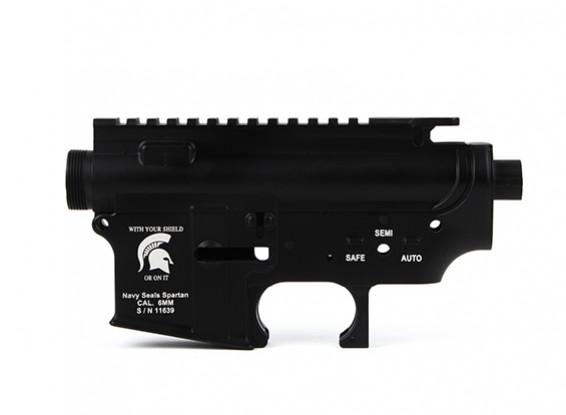 DYTAC х Toy Soldier Navy Seals Spartan M4 AEG металлический корпус (черный)
