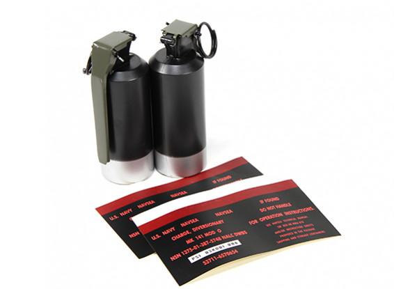 Dytac пустышки MK141 украшения флэш Grenade (2шт / уп)