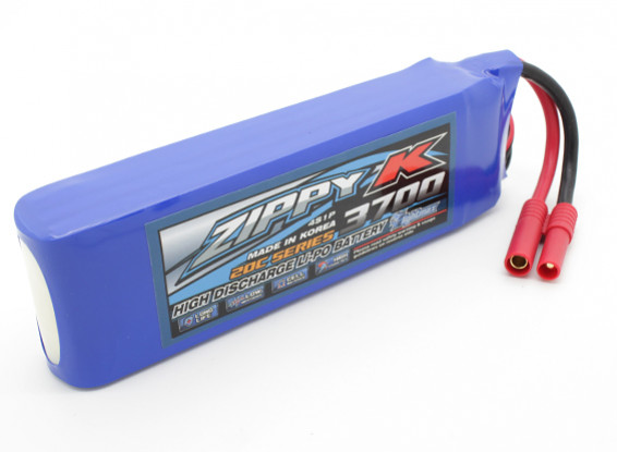 Батарея Zippy-K Flightmax 3700mah 4S1P 20C LiPoly