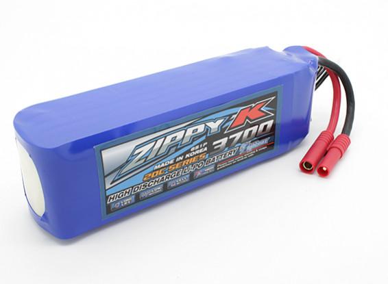 Батарея Zippy-K Flightmax 3700mah 6S1P 20C LiPoly