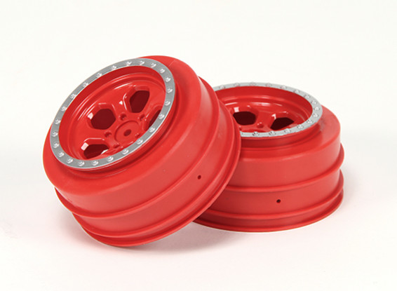 Набор колес (2) - раздолбай Nitro Circus1 / 10 SCT