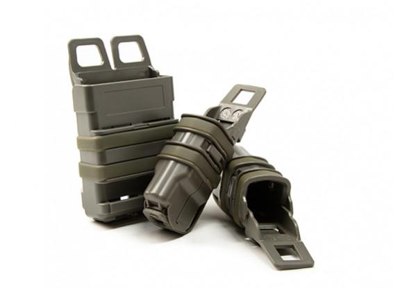 FMA FastMag журнал кобура для M4 & пистолета набор маг (Листва Зеленый)