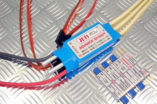 Advance 50 NAVY 2-6S / водяным охлаждением / Free P-Card