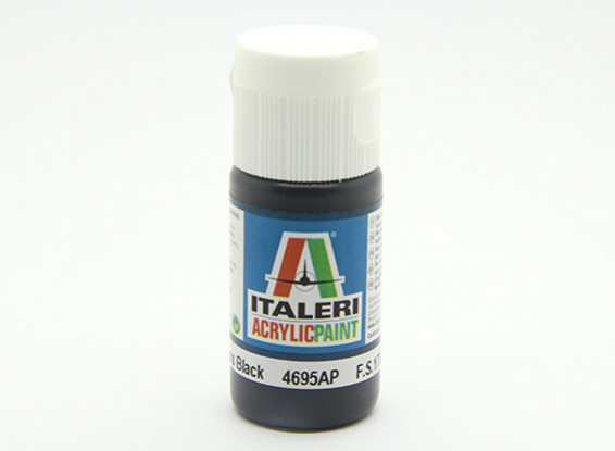 Italeri Акриловая краска - Gloss Black
