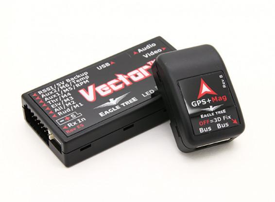 EagleTree Вектор контроллер Flight ж / OSD, GPS и блока питания датчика