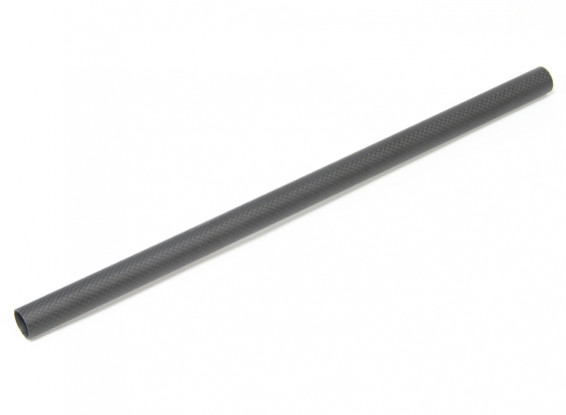 20 х 18 х 420мм Carbon Fibre Tube (3K) Гладкая отделка Matt