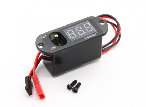 Turnigy 3 Функция переключателя ж / UBEC, напряжение дисплей
