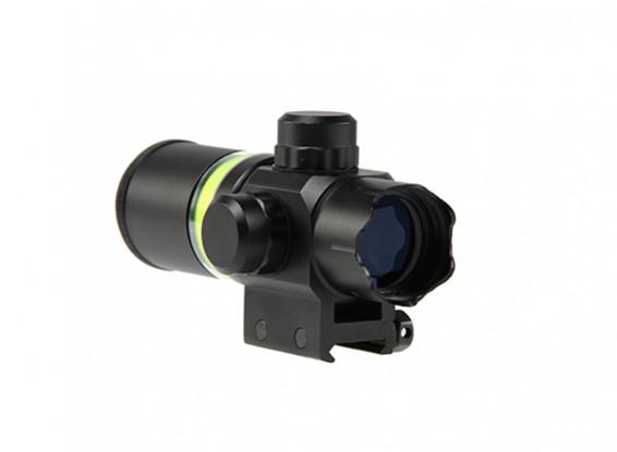 Airsoft радужный Стиль 2x28 Волоконно-оптический с подсветкой Объем (зеленый)