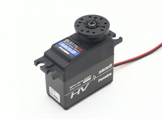 Futaba BLS175SV S.Bus 2 High Torque Brushless Servo с теплоотвод 21kg / 0.12sec / 66g