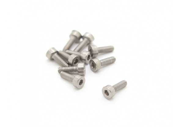 Титан M2 x 6 Sockethead шестигранной головкой (10шт / мешок)