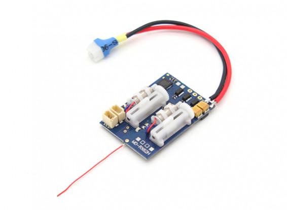 2.4Ghz SuperMicro Systems - DSM2 совместимый приемник ж / Brushless ESC, линейный сервоприводов