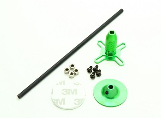 Универсальный GPS Складной Основание антенны Set / зеленый