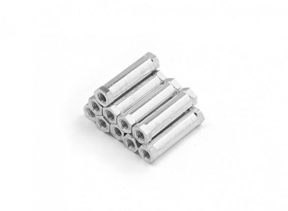 Легкий алюминиевый круглого сечения Spacer M3 х 20мм (10шт / комплект)