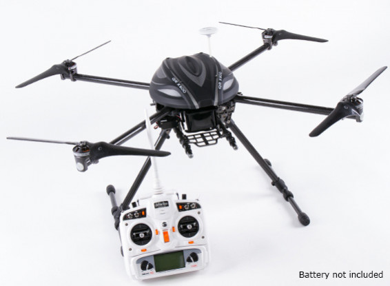 Walkera QR X800 FPV GPS Quadcopter, Ретракты, DEVO 10, ж / из батареи (режим 1) (готов к полету)