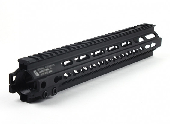 "Dytac G Style SMR MK5 13 дюймов Рейка для профиля Systema PTW (1 1/4 ""/ 18, черный)"