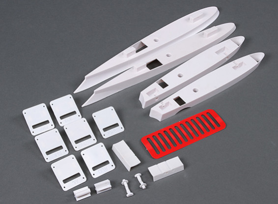 HobbyKing Cobra 90mm EDF - замена пластиковых деталей Комплект