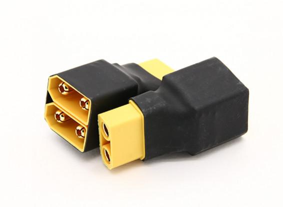 XT90 Проводка для 2-х пакетов в параллельных 2pcs / мешок
