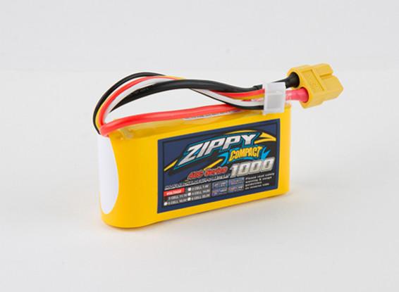 ZIPPY Компактный 1000mAh 3s 40c Lipo обновления