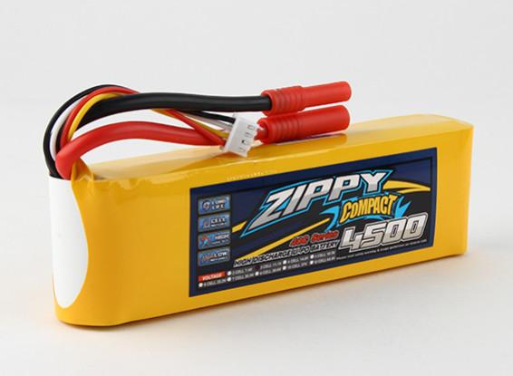 ZIPPY Компактный 4500mAh 3s 40c Lipo обновления