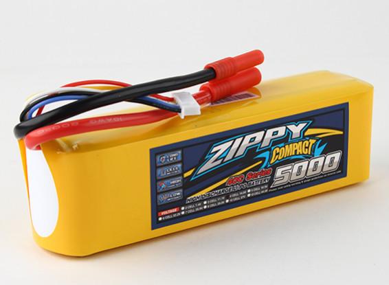 ZIPPY Компактный 5000mAh 4с 40c Lipo обновления