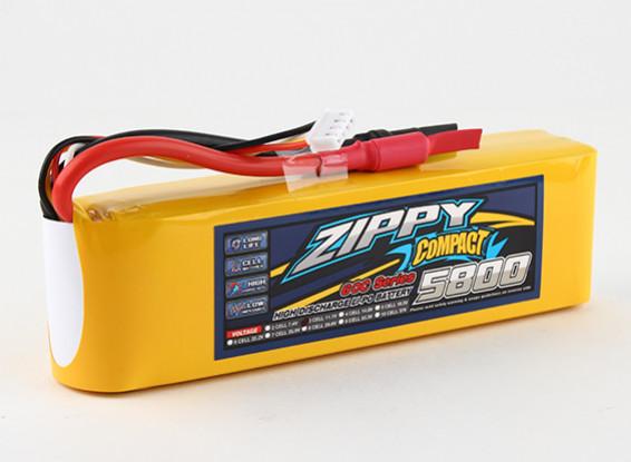 ZIPPY Компактный 5800mAh 3s 60c Lipo обновления