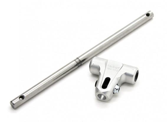 Таро 450 DFC низкопрофильный главного ротора Корпус с блоком шпинделя - Серебро (TL45163A)