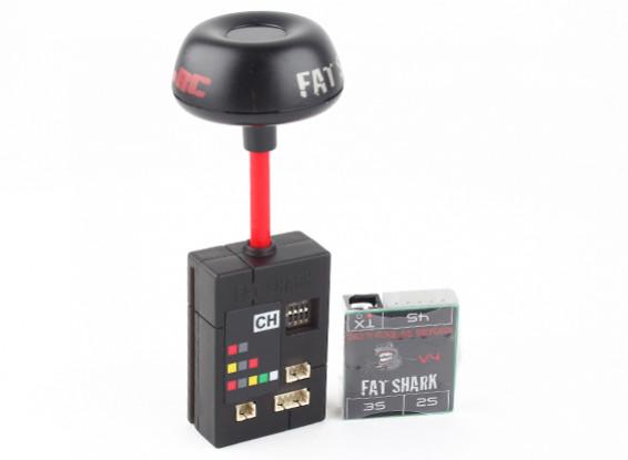 Fatshark 25mW 7ch 5.8GHz аттестованный CE передатчик видео С NexwaveRF