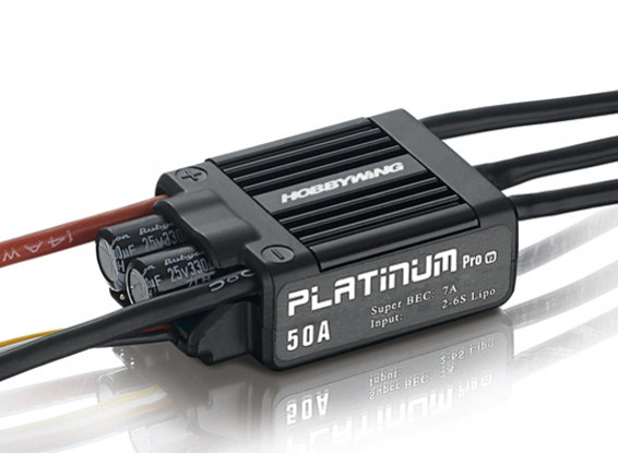 Hobbywing Платиновый 50A Brushless ESC V3 ж / 7A БЭК